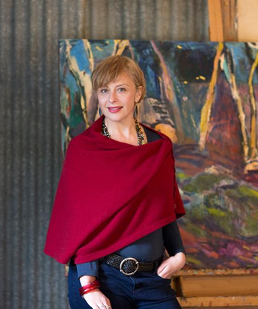 Nina Machielse Hunt Portrait